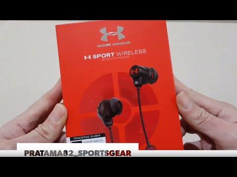 Unboxing Under Armour Jbl Sport Wireless Bluetooth Headset By Harman 100 Original Resmi No Kw Youtube