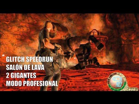 GUÍA PROFESIONAL RESIDENT EVIL 4 - GLITCH DEL SALÓN DE LAVA (GIGANTES)