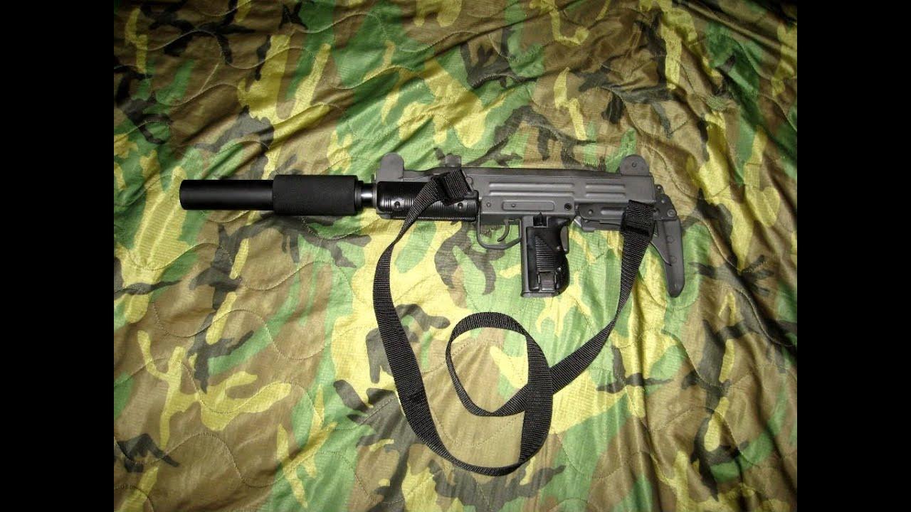 Uzi Carbine ~ Title 2 Arms Faux Suppressor Test
