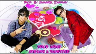 Solo Aqui - JFrank & Damsser [New Style] - ♥Letras♥