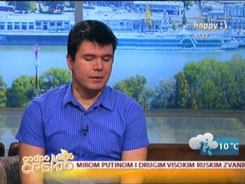 Boris Malagurski | Jutarnji program Happy TV