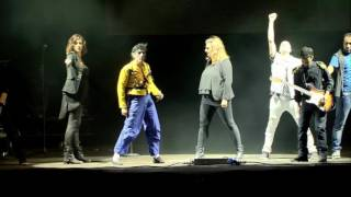 MICHAEL JACKSON TRIBUTE BAND - WORKING DAY AND NIGHT | SMOOTH CRIMINALS LIVE AT Baudet'stival