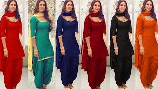 Top Punjabi Suit Designs 2018 || Latest Salwar Kameez Design|| Latest party wear Punjabi Suit Design