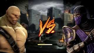 Play as BOSSES Mortal Kombat Komplete Edition PC (Download link in description)