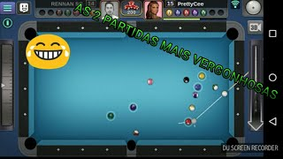 3d pool ball:AS 2 PARTIDAS MAIS VERGONHOSAS DA MINHA VIDA|SNOOKER GAME