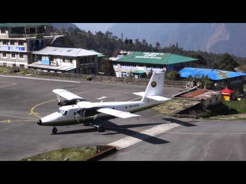 Flight from Kathmandu to Lukla - World's most dangerous airport