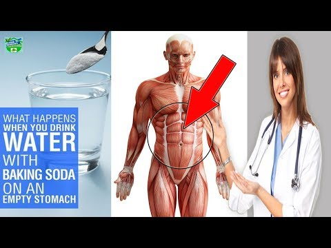 What Happens When You Drink Water With Baking Soda On An Empty Stomach ! MUST WATCH