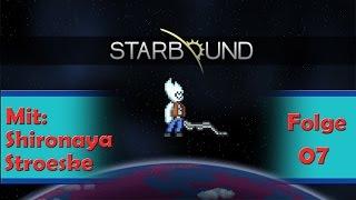Starbound mit Shironaya und Stroeske - Teil 07 - Ganz tief unten