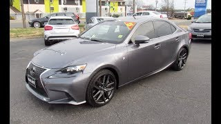 *SOLD* 2015 Lexus IS350 F-sport AWD Walkaround, Start up, Tour and Overview