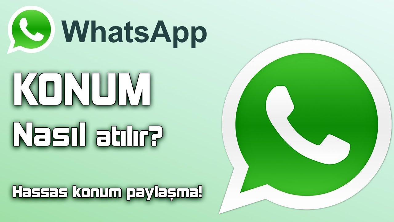 WHATSAPP KONUM GÖNDERME | Whatsapp konum atma 2021 - (YENİ YÖNTEM)