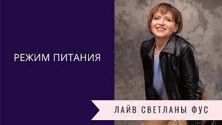 Режим питания   Советы диетолога Светланы Фус