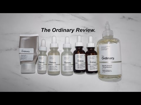 七款 The Ordinary 產品使用心得 Review // Cara Wu