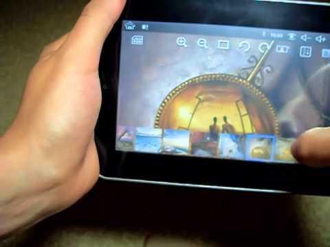 Просмотр фото видео на китайском планшете Eken2.mp4