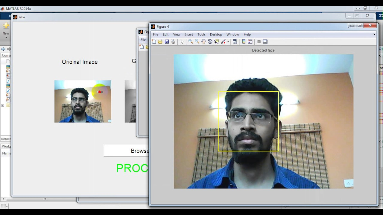 Automatic Door Access System Using Face Recognition in matlab code