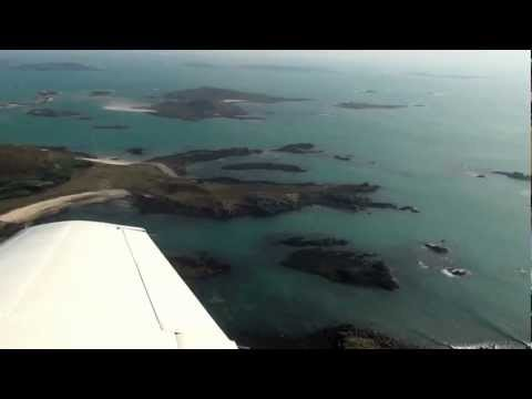 The Isles of Scilly (UK) at 1000 feet above mean sea level