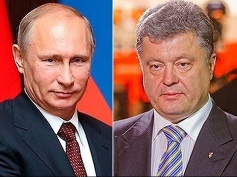 Ukraine crisis Poroshenko and Putin set for Minsk talks