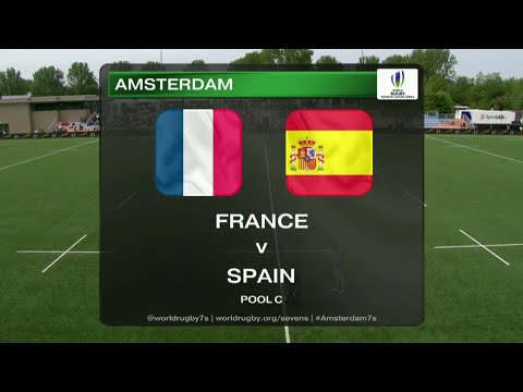 France vs Spain - Rugby Women´s Sevens World Series Amsterdam 2015