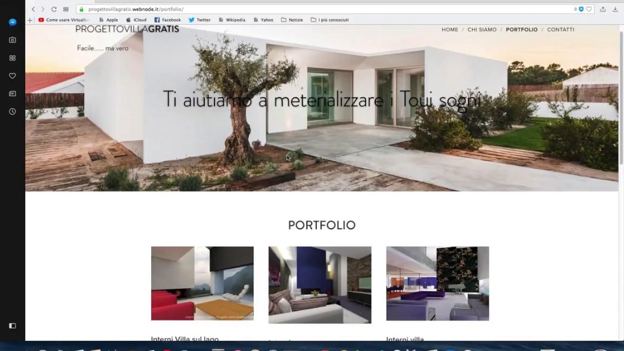 Progetto ville gratis progettare casa online e non for Architetto gratis online