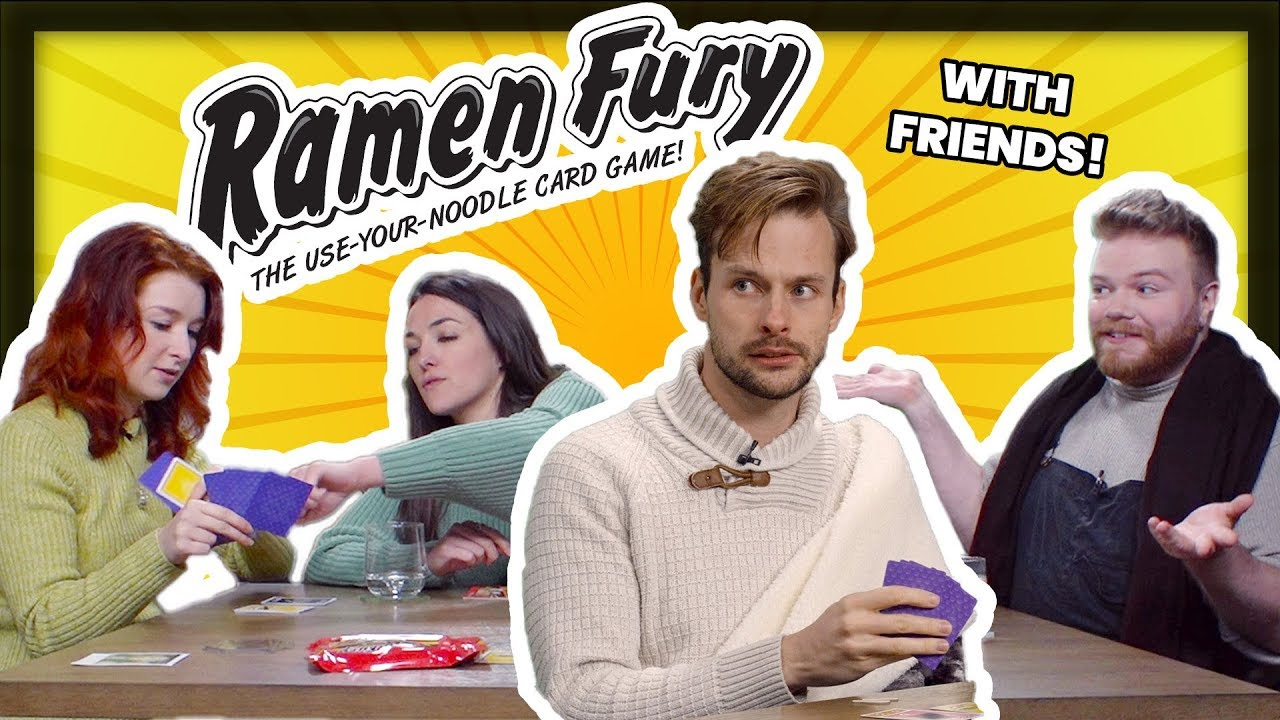 Let's Play Ramen Fury – The card game involving nasty noodles