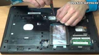 Инструкция по замене памяти, жесткого диска, WI-FI и DVD RW ноутбука LENOVO G580.(Это видео инструкция как самому снять и поменять модуля оперативной памяти, вайфай и жесткого диска на..., 2014-06-13T07:23:43.000Z)