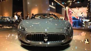 Maserati GranCabrio Fendi 2012 Videos