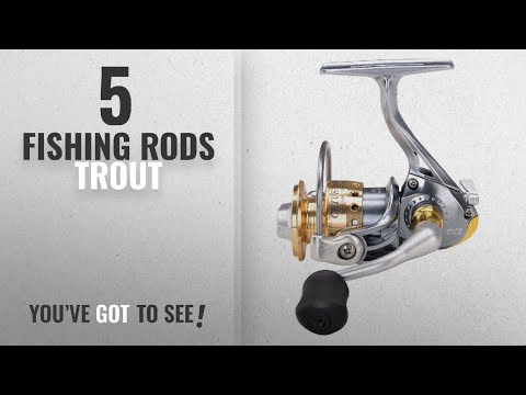 Top 10 Trout FishingRods [2018]: Tica SS800 Cetus Trout Fishing Series Reel, Grey