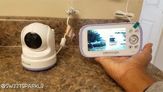 DBPOWER Digital Video Recorder Baby Monitor System | Review & First Impressions