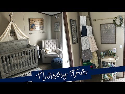 nursery-tour-|-baby-boy-vintage-tribal-themed-nursery