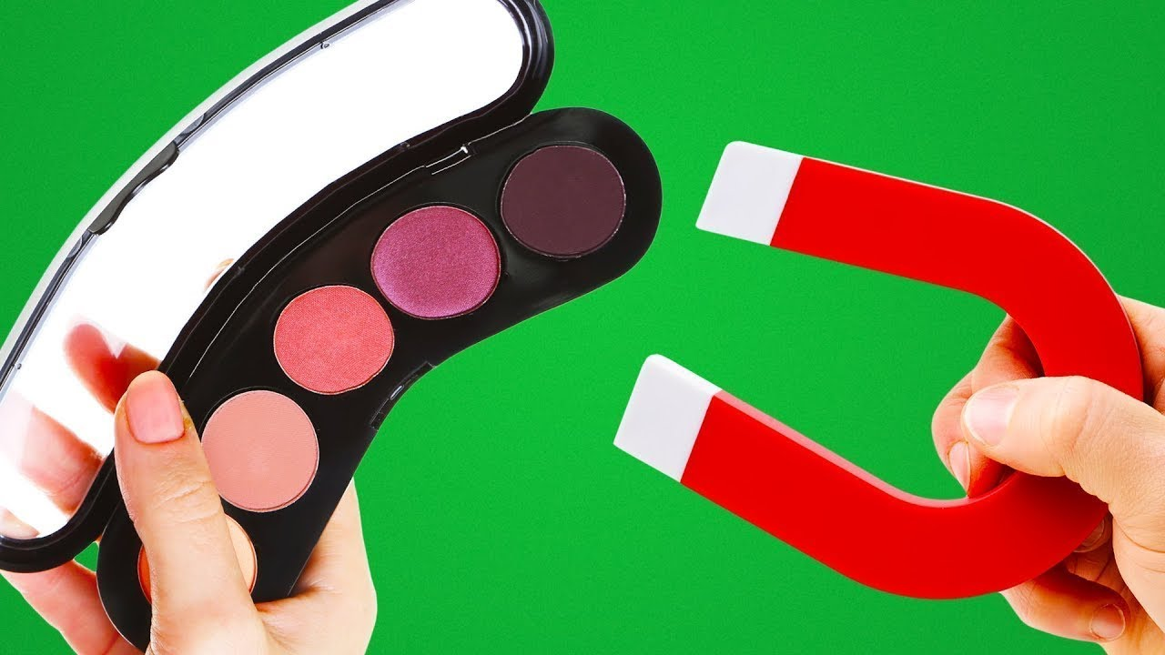 20 Idées De Rangements Fait Maison Pour Ton Maquillage Youtube