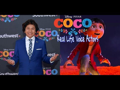 Coco Miguel: Real Life Actors Behind The Voices Of All Characters
