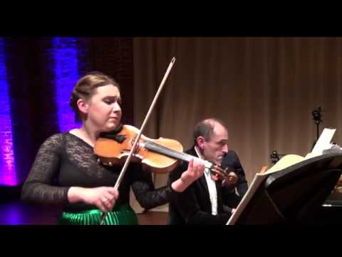 Chloë Hanslip & Danny Driver - Beethoven Violin Sonata No.5 in F, Op.25