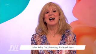 Julia Keys Pretended to Be Her Husband While Texting His Mistress | Loose Women