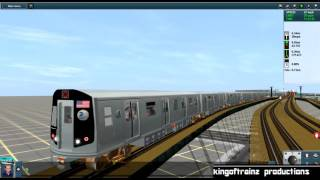 Trainz 12: R160 Siemens (Q) Train (Coney Island - 57 St-7 Av) {All Stops}