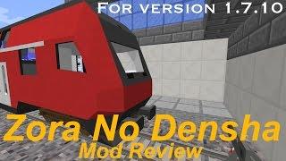 Zora No Densha mod review | 1.7.10