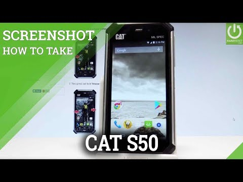 How to Take Screenshot on CATERPILLAR S50 - Screenshot Tutorial