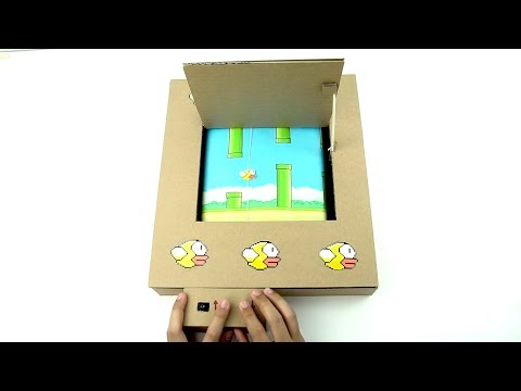 How To Make Flappy Bird Game Using Cardboard - Amazing Game from Cardboard