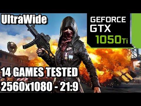 GTX 1050 ti on an UltraWide Monitor - 14 Games Tested - 21:9 - 2560x1080