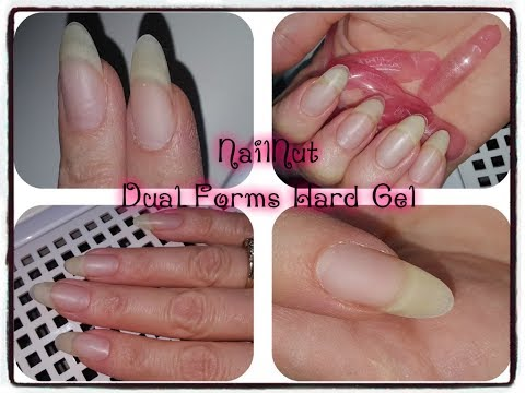 Dual Forms Overlay On Natural Nails Using Hard GEL