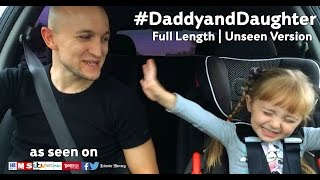 UNSEEN Official #DaddyandDaughter singing  Let It Go  From Frozen