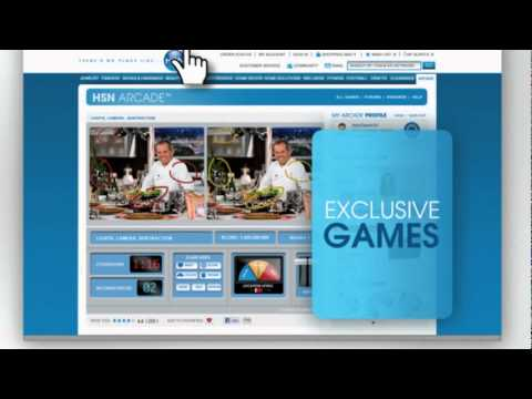 Watch, Shop & Play in New HSN Arcade - YouTube