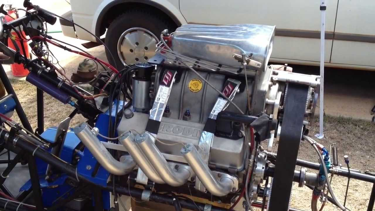 All Chevy 350 chevy engines : Blown Alcohol 350 Small Block Chevy Startup - YouTube