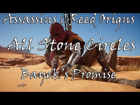 Assassin's Creed Origins: Stone Circles Locations Guide