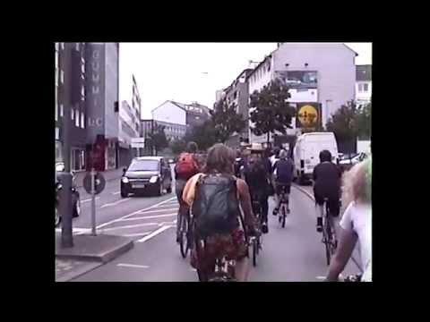 Critical Mass Wuppertal - Juli 2014