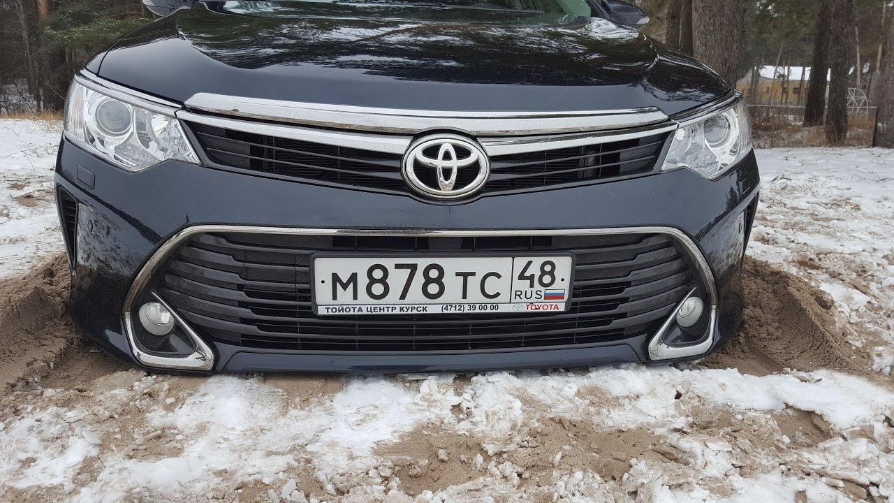 Тойота Камри 2016 тест драйв + недостатки
