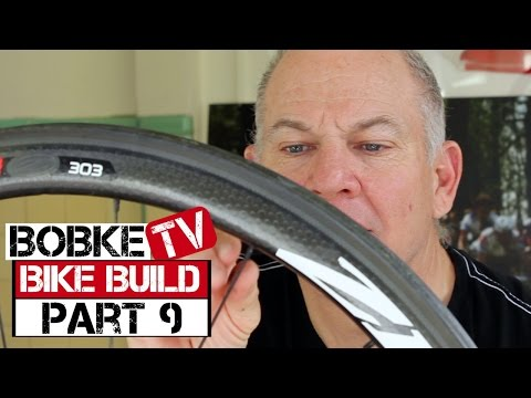 Building A Bike With Bob Roll Part 9 - Wheel Set For Daily Use