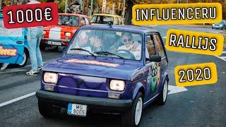 SKRĒJIENS PĒC 1000 EIRO / INFLUENCERU RALLIJS