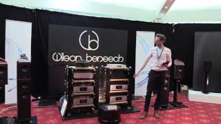 The Wilson Benesch room at the Bristol Sound & Vision Show 2017