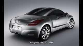 Peugeot 308 RC Z concept Videos