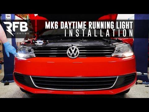 MK6 Daytime Running Light Installation | RFB Lighting