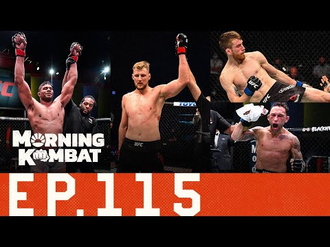 UFC Preview: Overeem vs. Volkov, Sandhagen vs. Edgar | Ferguson-Nate Diaz? | Morning Kombat Ep. 115